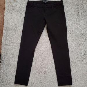 BANANA REPUBLIC Black Skinny Jeans Stretch, 8